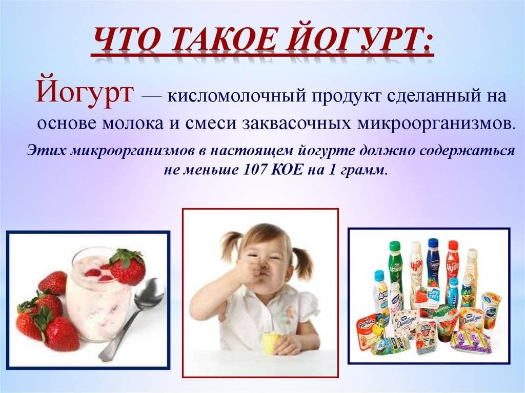 Йогурт — польза и вред для организма