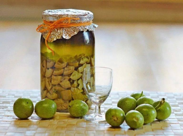 Оригинальное варенье из грецких орехов
