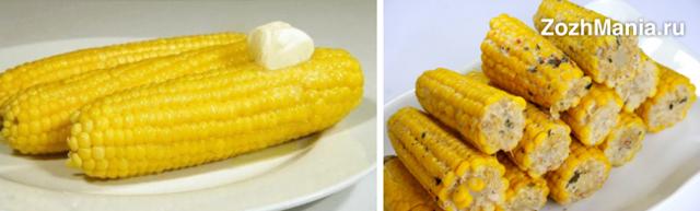 Чем полезна варёная кукуруза для человека