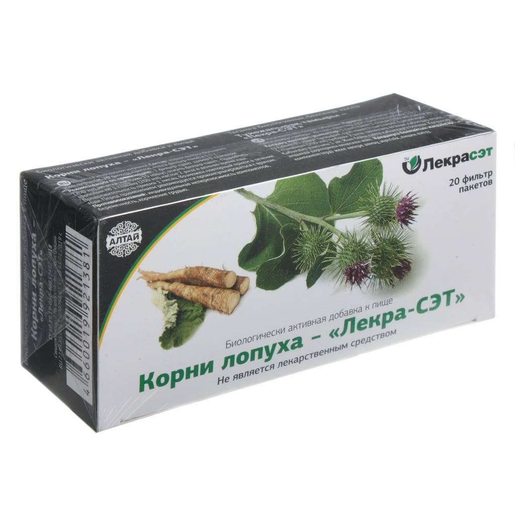 Лечебные свойства корня лопуха и его широкое применение в домашних условиях
