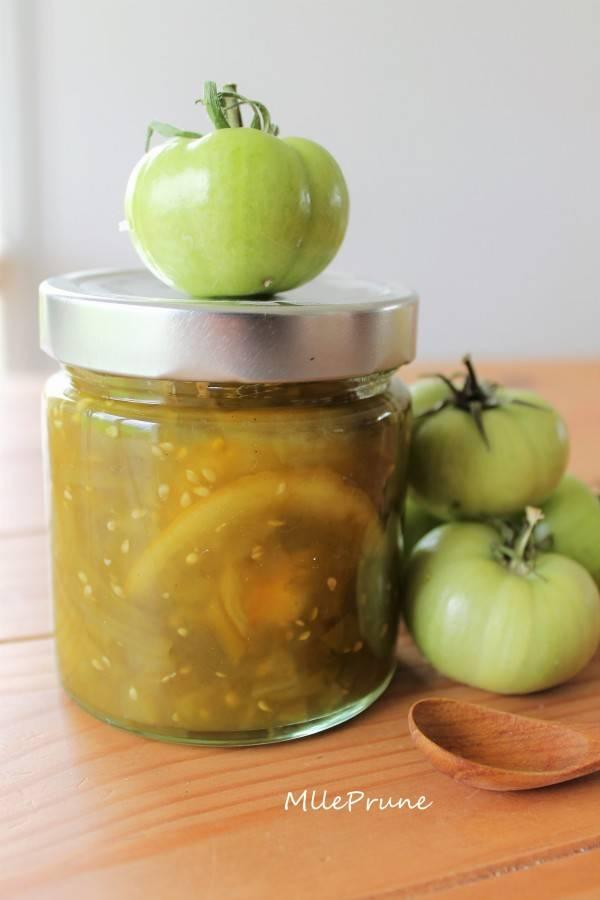 Как приготовить варенье из зеленых помидор