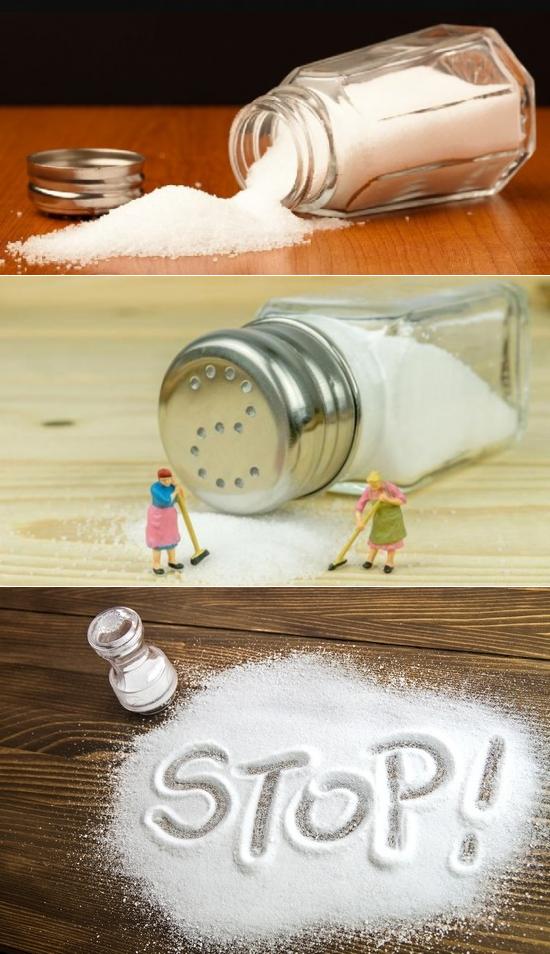 Все виды солей, польза и противопоказания