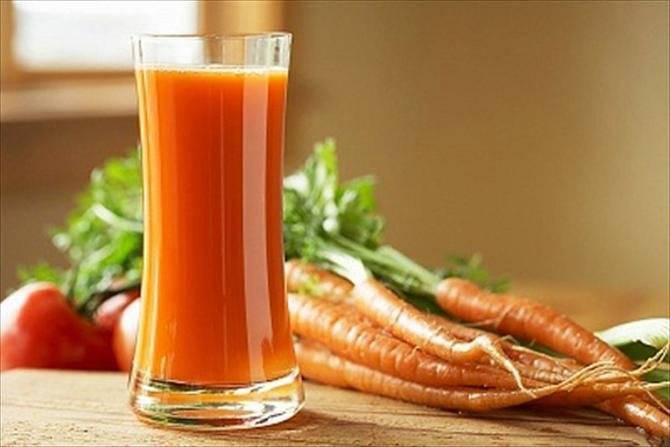 Польза и вред морковного сока для печени