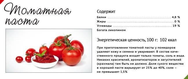 Чем полезна и вредна томатная паста