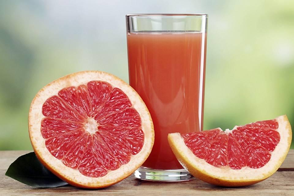 Чем полезен сок из грейпфрута