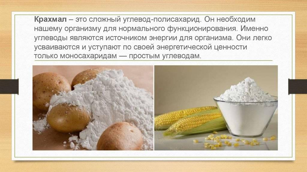 Кукурузный крахмал: польза и вред