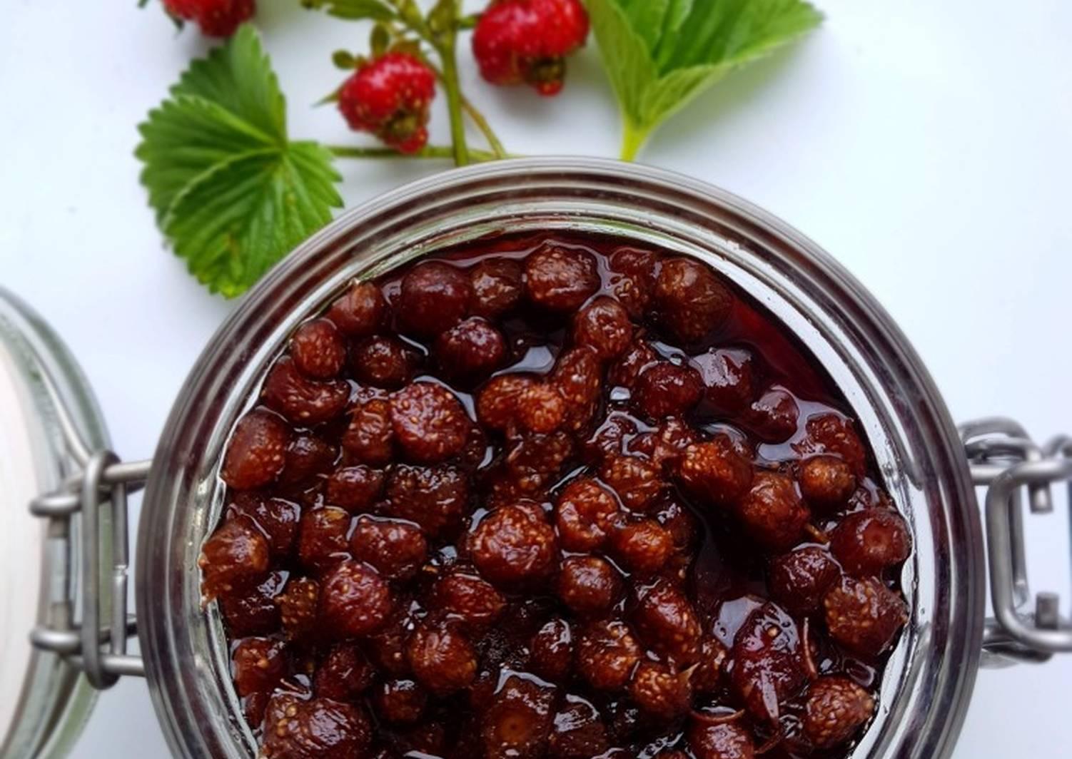 Как варить варенье из земляники лесной: рецепты полезного и вкусного лакомства