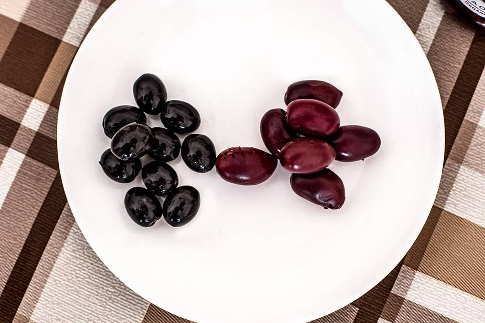 Маслины и оливки в чем разница