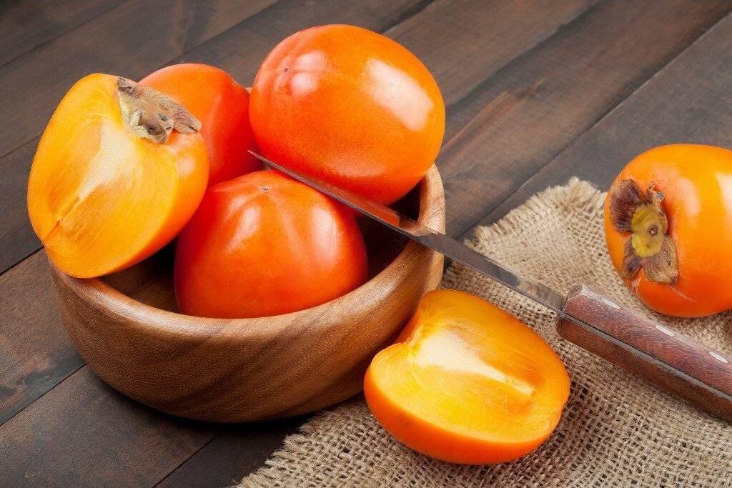 Польза и вред хурмы — обзор полезных и вредных свойств фрукта и его влияния на мужской и женский организм (100 фото)