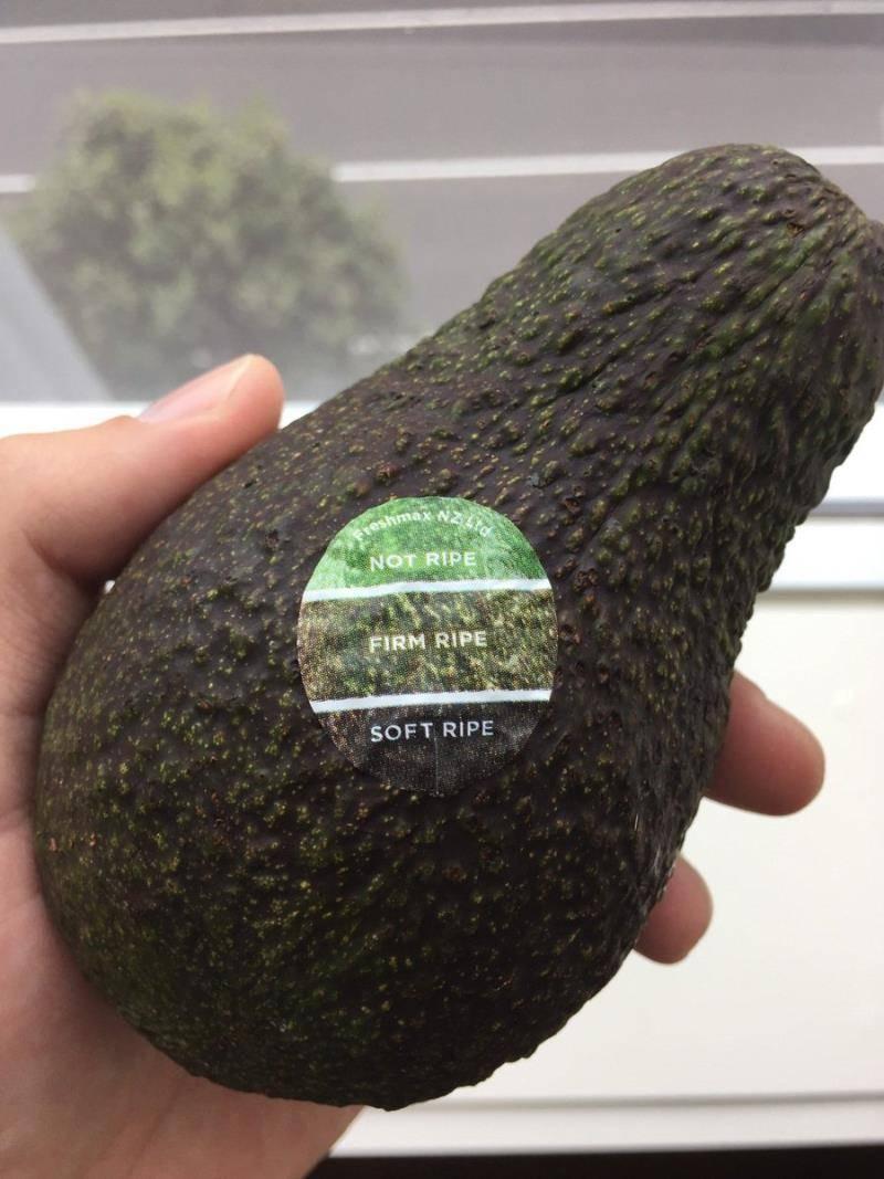 Как определить спелость авокадо в магазине?