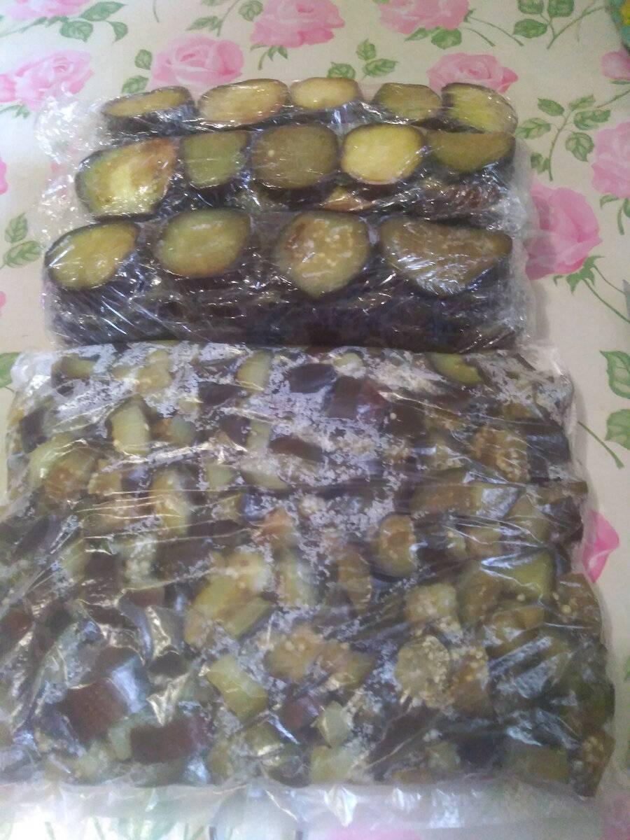 Лучшие рецепты замороженных баклажанов на зиму