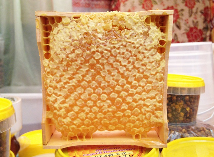 Мёд в сотах: польза и вред при употреблении