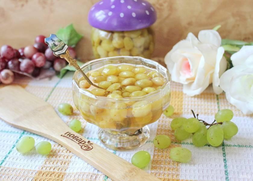 Варенье из винограда: 12 рецептов