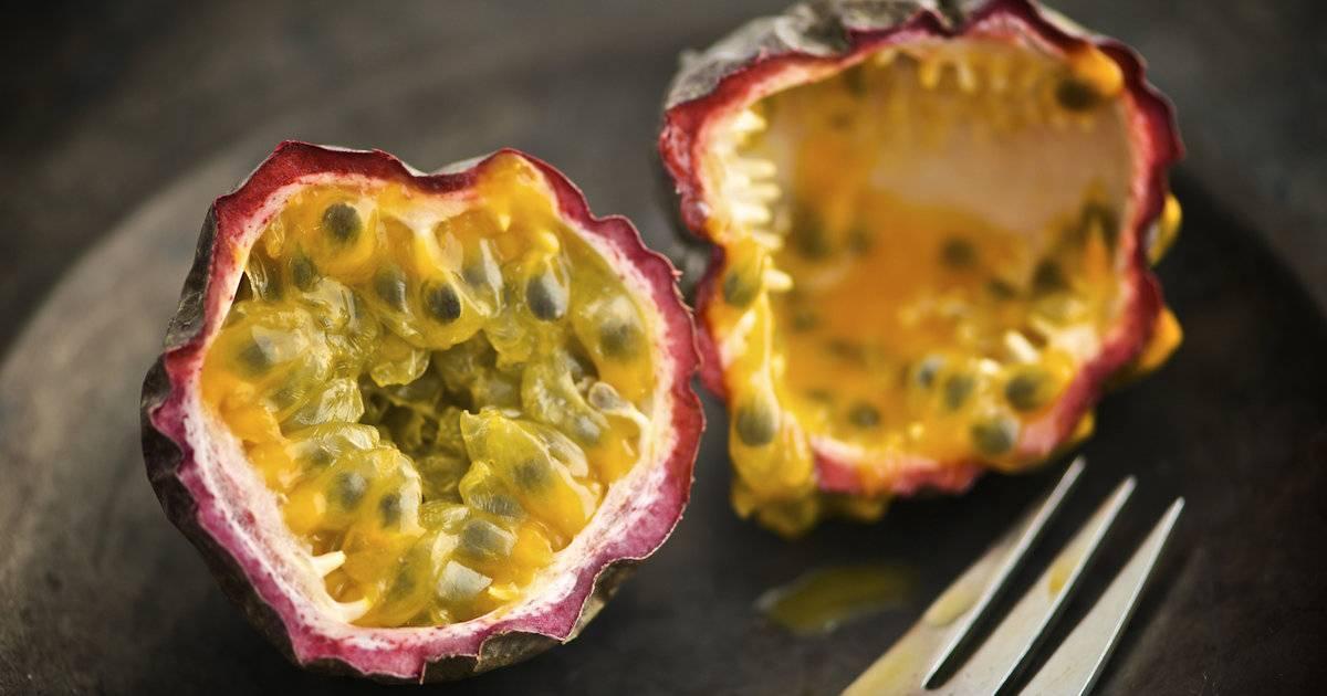 Маракуйя: полезные свойства и вред фрукта