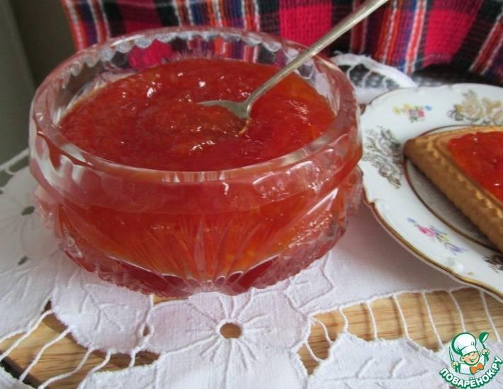 Варенье из корок грейпфрута