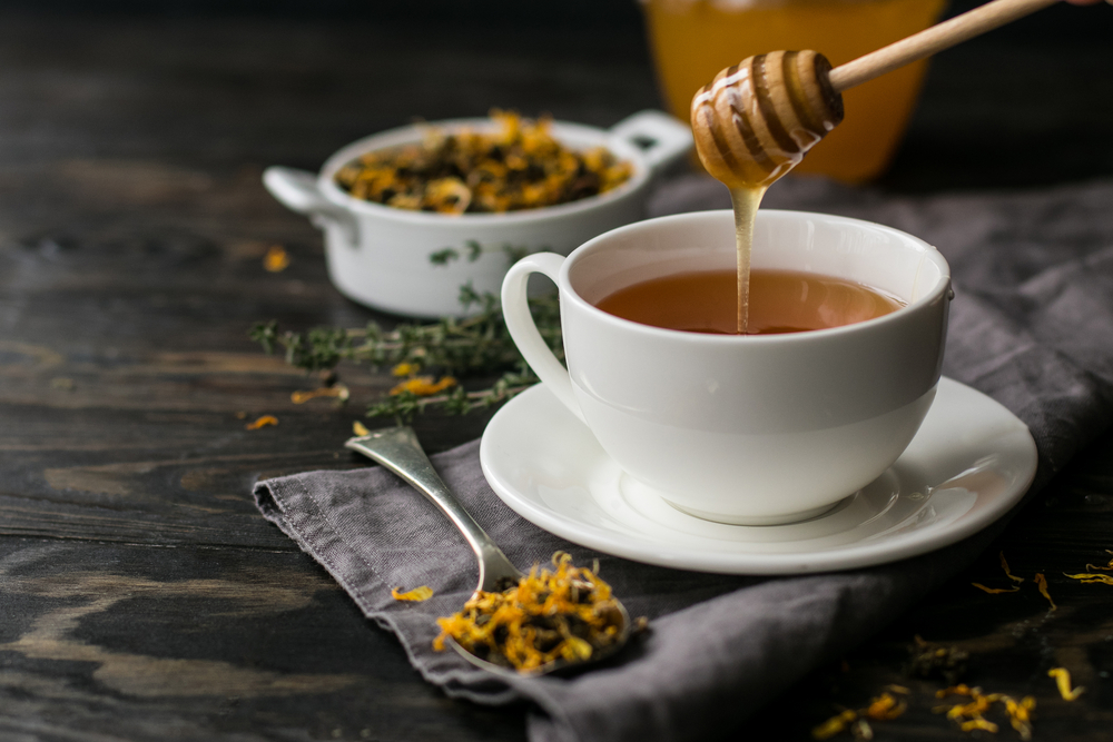 Черный чай с медом и лимоном польза и вред