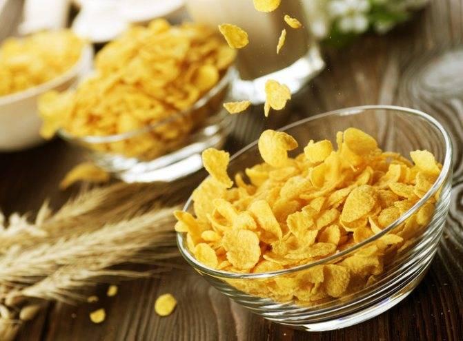 Кукурузные хлопья: вред и польза, свойства, противопоказания