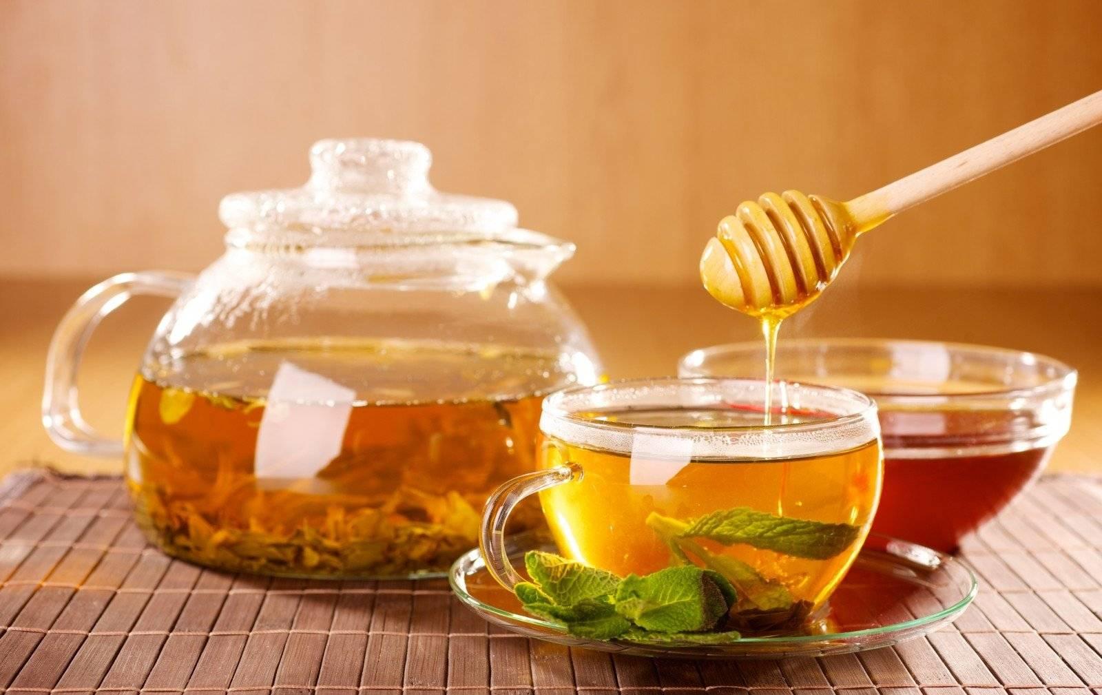 Чай с медом польза и вред