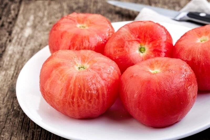7 способов снять кожуру с помидора: чистим томаты легко и просто с помощью секрета от домохозяек