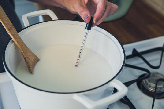 Кипяченое молоко для ребенка