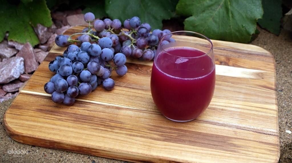 Чем полезен сок винограда