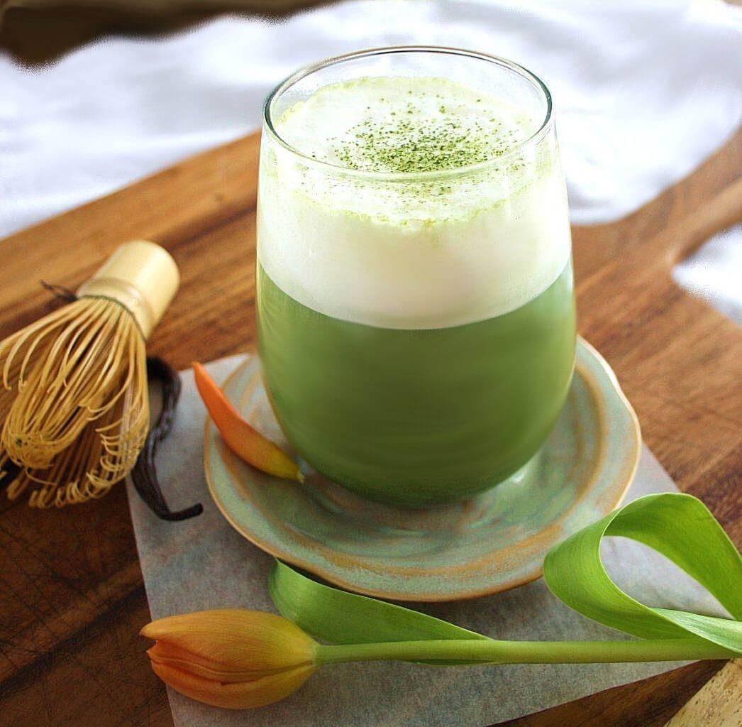 Чай зеленый с молоком: польза и вред