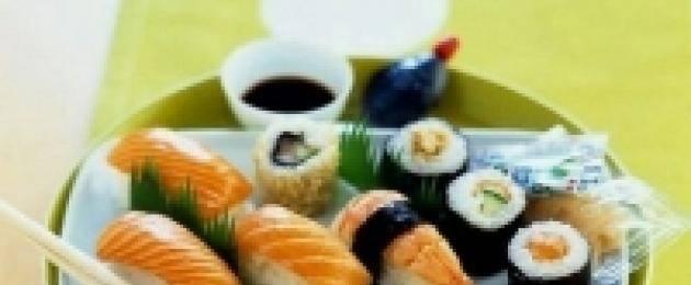 Суши польза и вред для здоровья