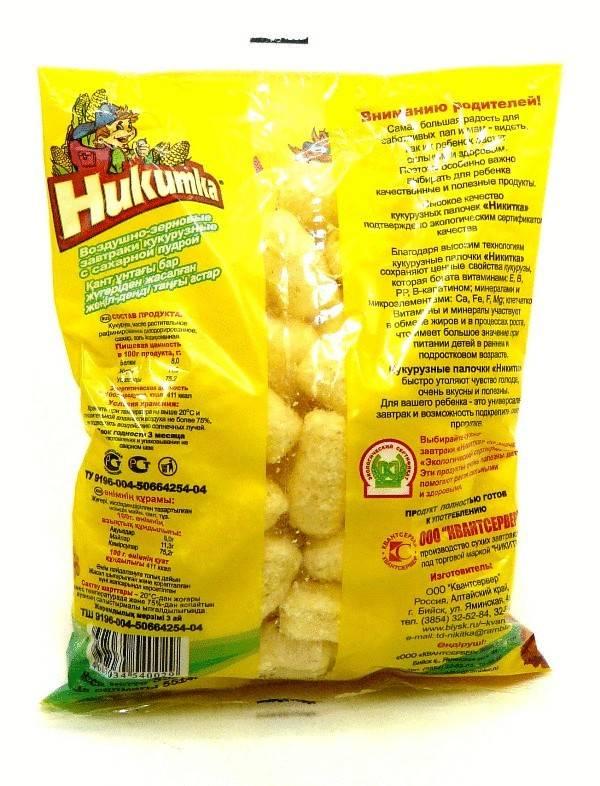 Кукурузные палочки: польза и вред, приготовление дома