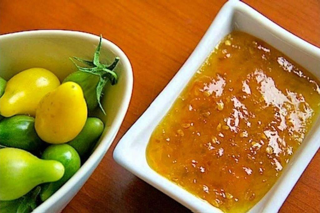 Варенье из зеленых помидоров на зиму