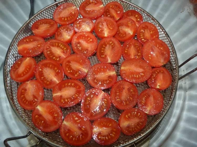 Как сушить помидоры