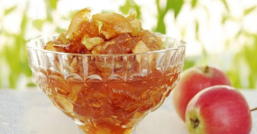 Варенье из яблок дольками быстро