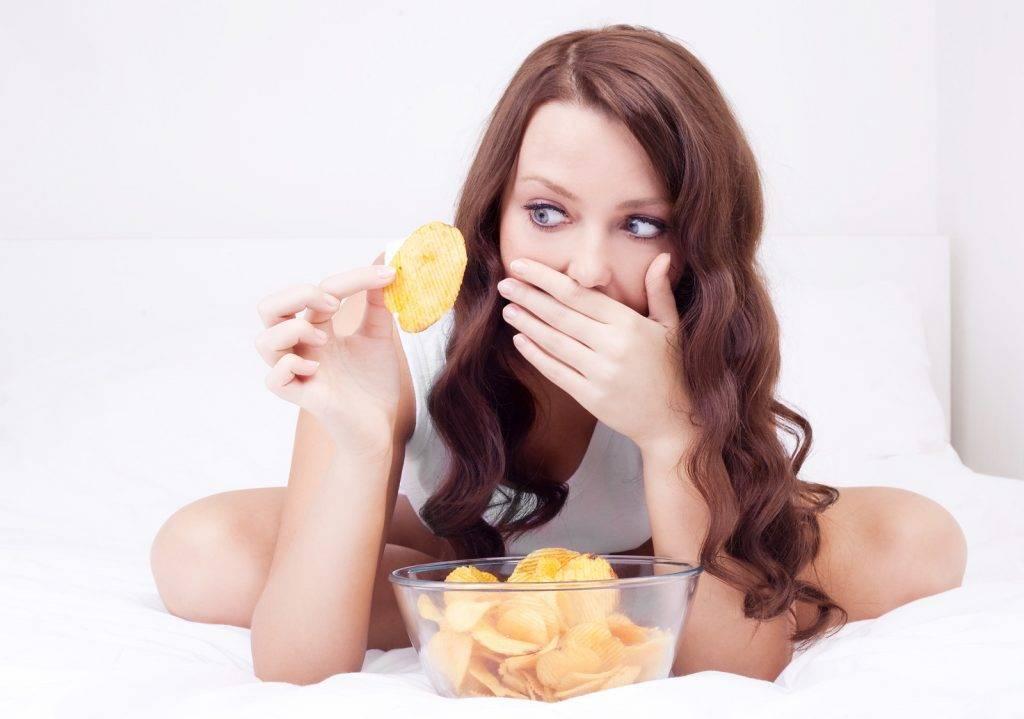 Можно ли есть чипсы во время беременности