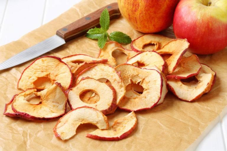 Правильная сушка яблок в домашних условиях — как это сделать