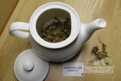 Вечерком за чаем из зверобоя