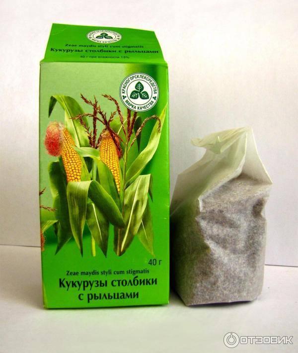 Кукурузные рыльца полезные свойства, лечебные рецепты применения при различных заболеваниях