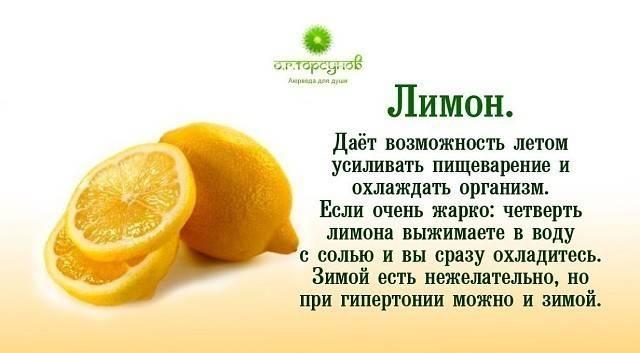 Сколько лимона можно есть в день