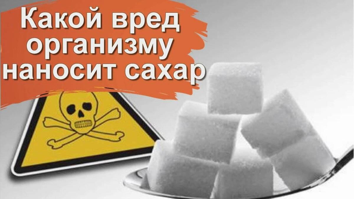 Сахар – польза, вред и почему он медленно убивает