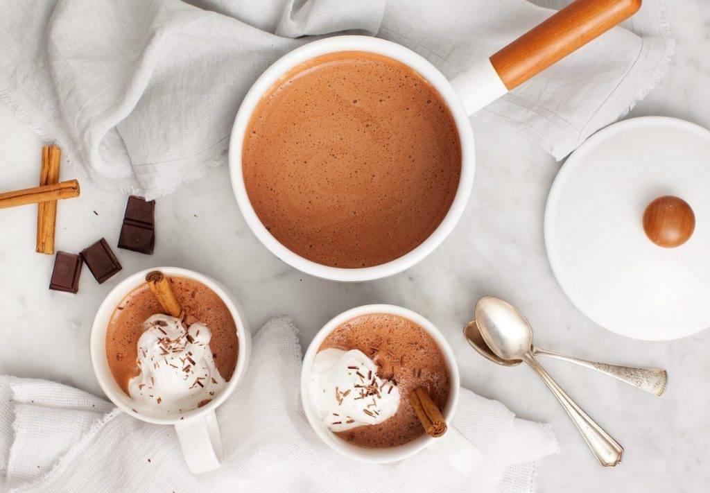 Горячий шоколад польза и вред для здоровья, чего же в нем больше?
