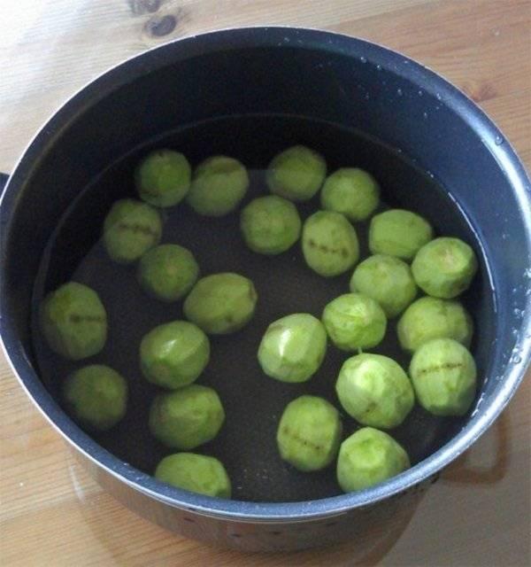 Варенье из зеленых грецких орехов на зиму