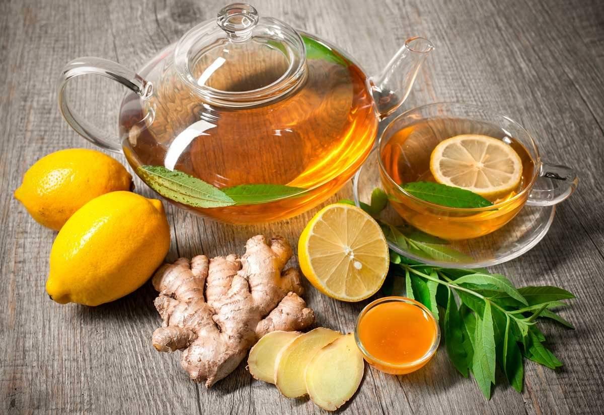 Зеленый чай с лимоном, польза