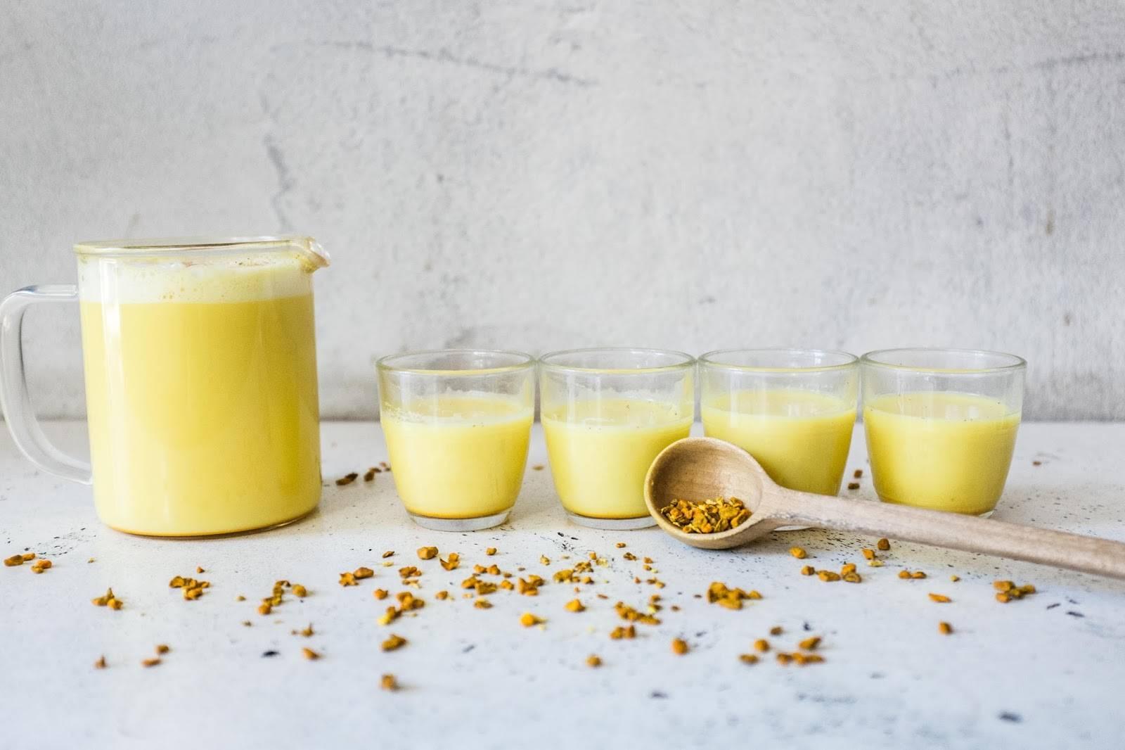 Целебное золотое молоко – готовим из куркумы прямо дома