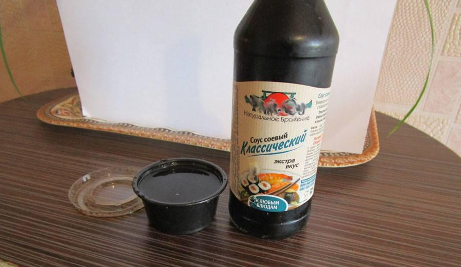 Соевый соус польза и вред для организма