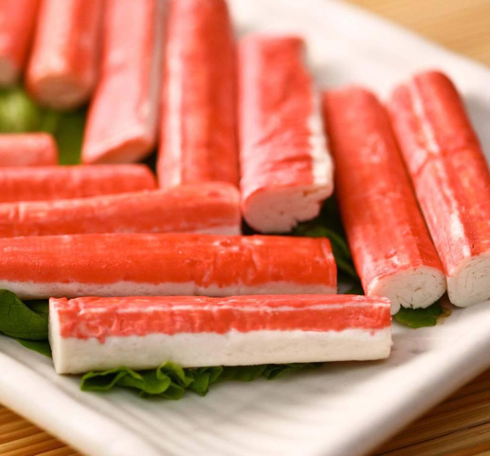 Крабовые палочки: состав, калорийность, вред или польза