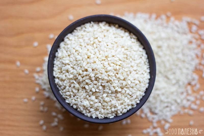 Кунжут. польза и вред для женщин, как принимать семя для похудения, рецепты