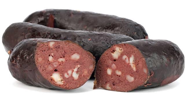 Кровяная колбаса употребление. кровяная колбаса — польза и вред для организма