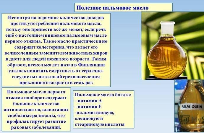Пальмовое масло: польза и вред для здоровья?