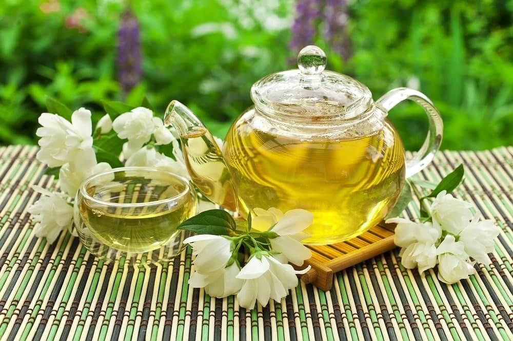 Чай с жасмином, польза и вред