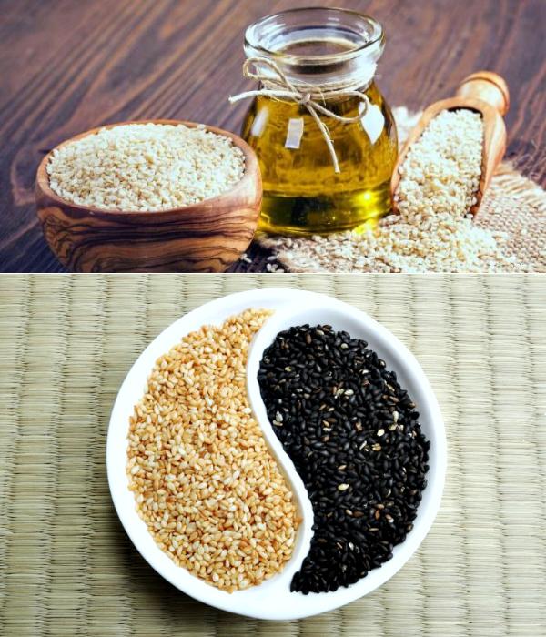 Кунжутное масло — полезные свойства и противопоказания. как принимать в лечебных целях
