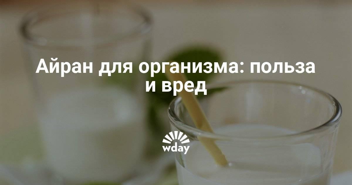 Айран — польза и противопоказания напитка