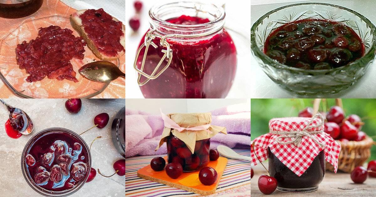 Варенье вишневое без сахара